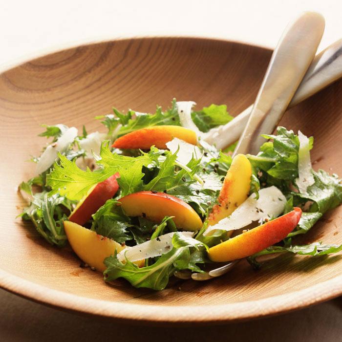 Nectarine and Hazelnut Salad