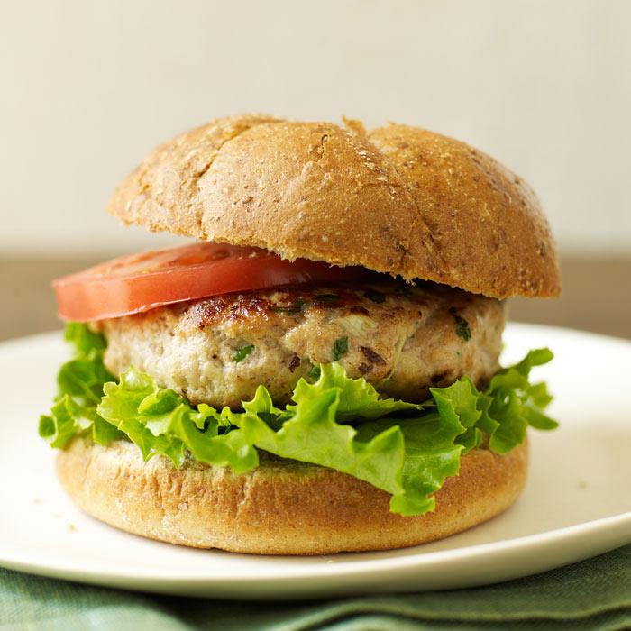 Great Tasting Low Fat Turkey Burgers