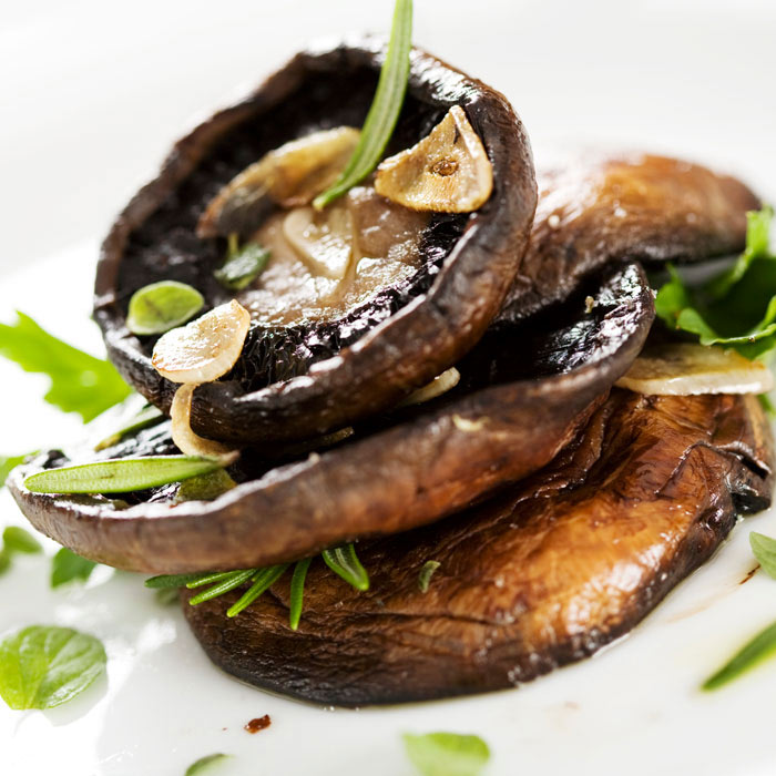 Henry Meer's Grilled Portobello Mushrooms