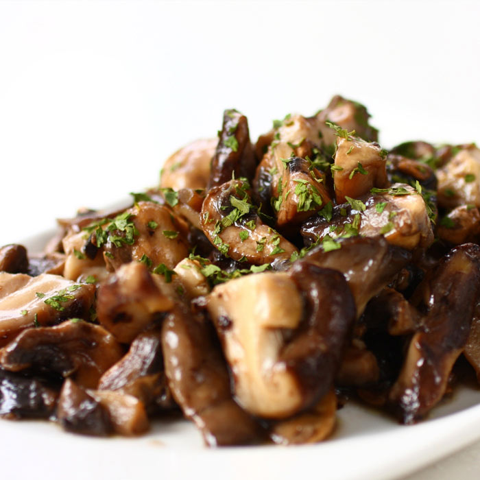 Creamy Wild Mushrooms with Sage