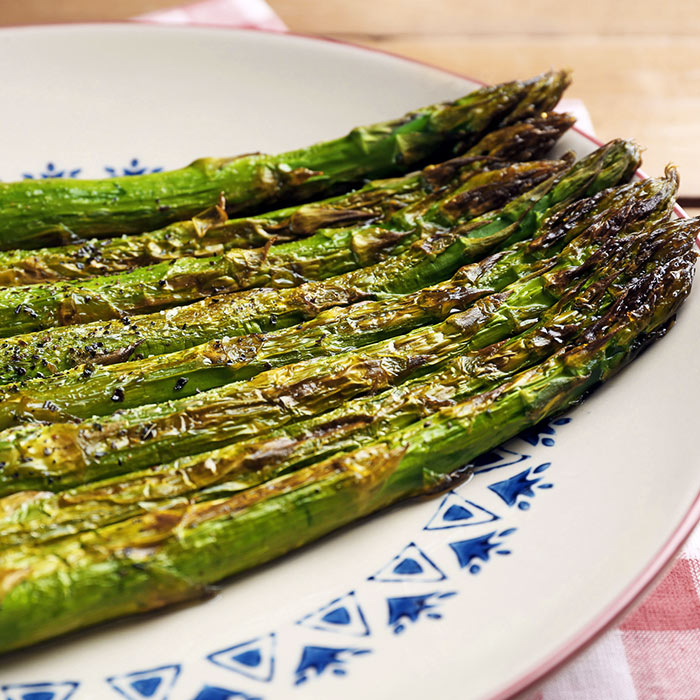 Pan Roasted Asparagus in Miso Butter