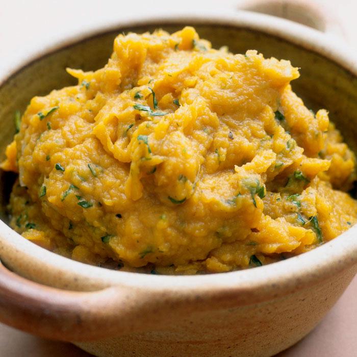 Mashed Roasted Sweet Potatoes