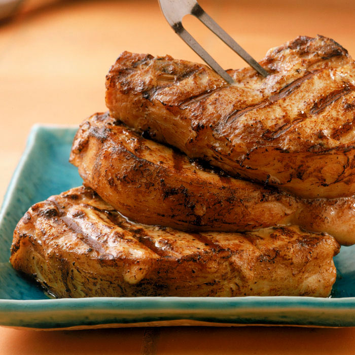 Garlic Herb Pork Chops