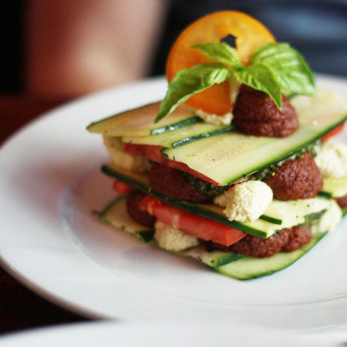 Zucchini and Heirloom Tomato Lasagna