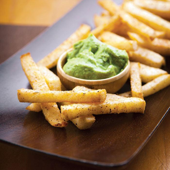 Seasoned Jicama Fries