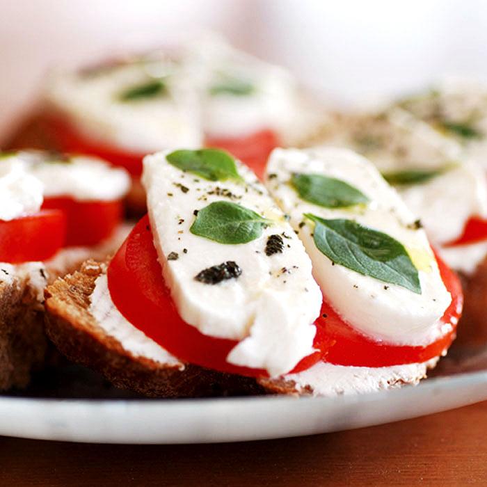 Tara's Tomato and Mozzarella Panini Melt