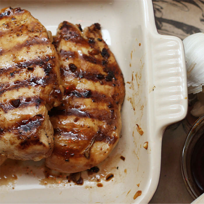 Ginger-Soy Marinated Chicken