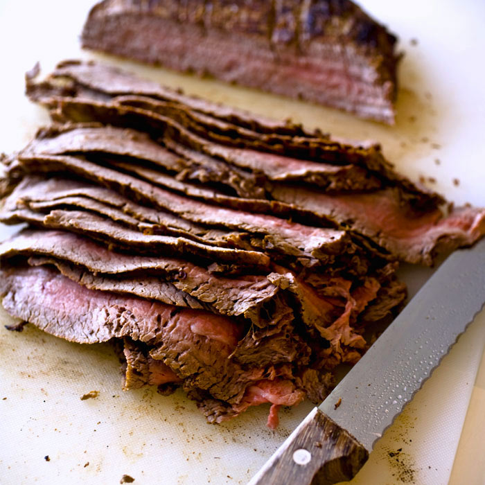 Soy and Ginger Flank Steak