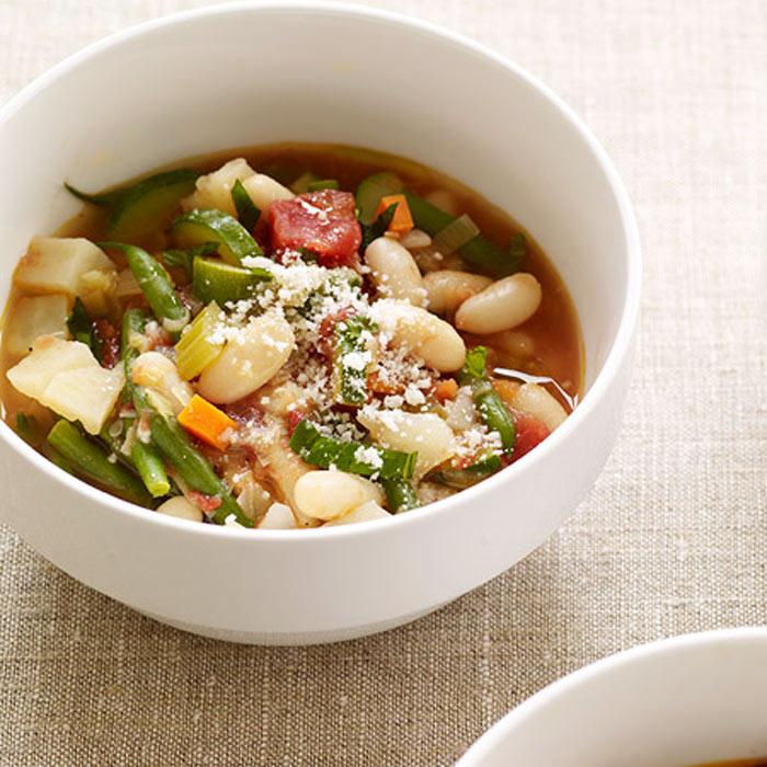 Crock-Pot Style Minestrone Soup