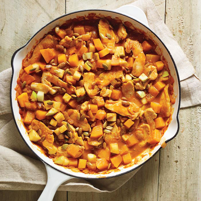 Fall Curry Chicken