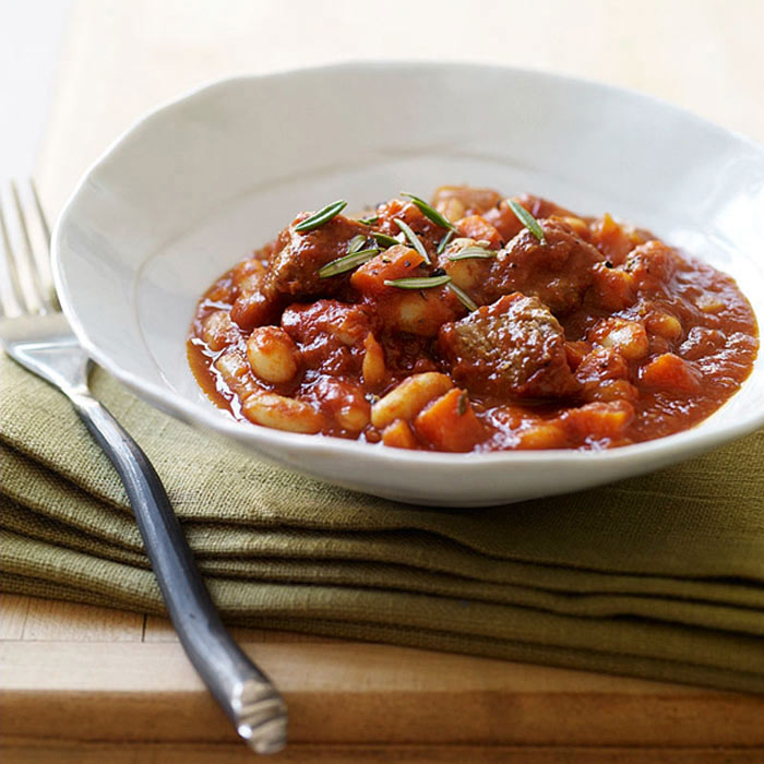 Lamb and Bean Slow Cooker Stew