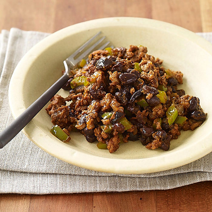Savory Beef Picadillo with Black Beans