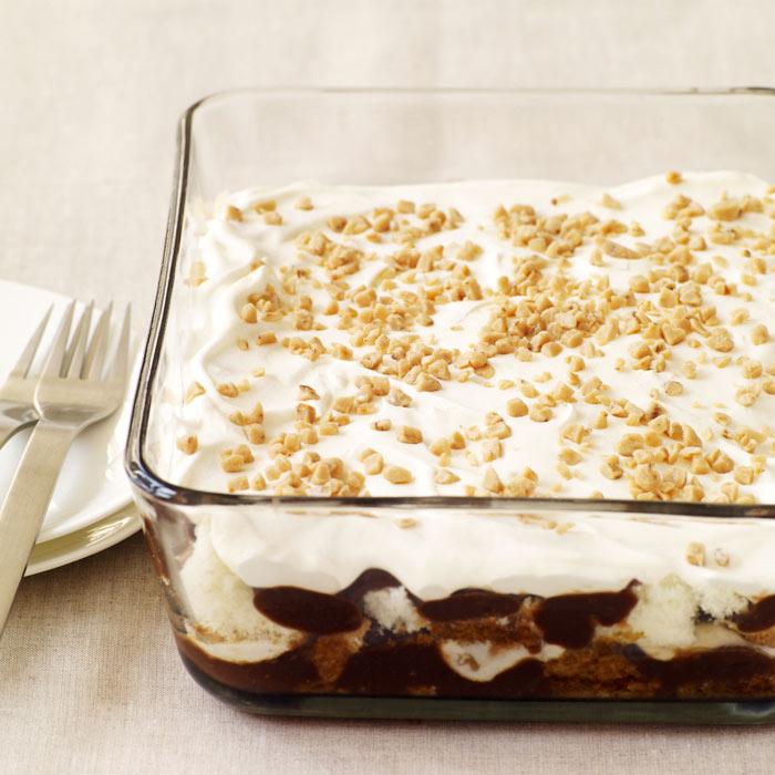 Chocolate-Espresso Mocha Trifle