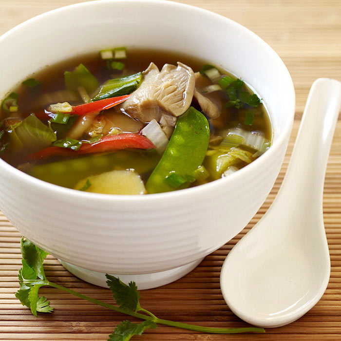 Asian-Inspired Vegetable Soup
