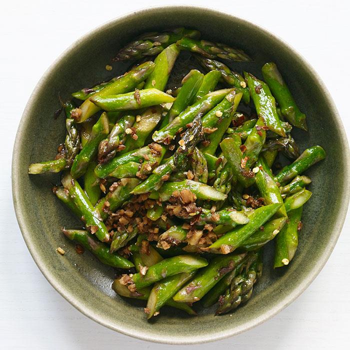 Asparagus with Oyster Sauce