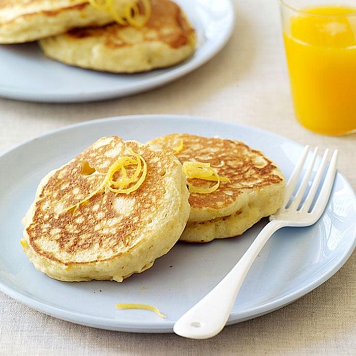 Fluffy Lemon-Ricotta Pancakes