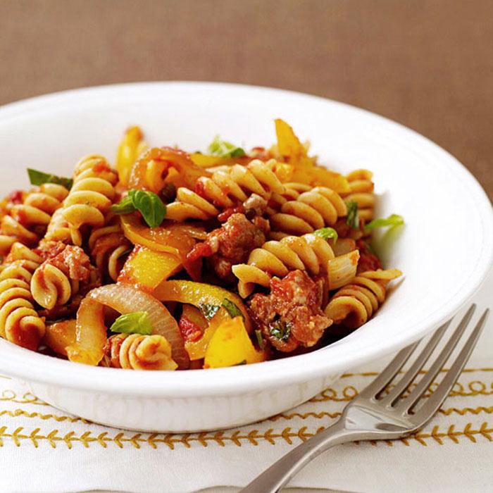 Italian Sausage and Pepper Pasta