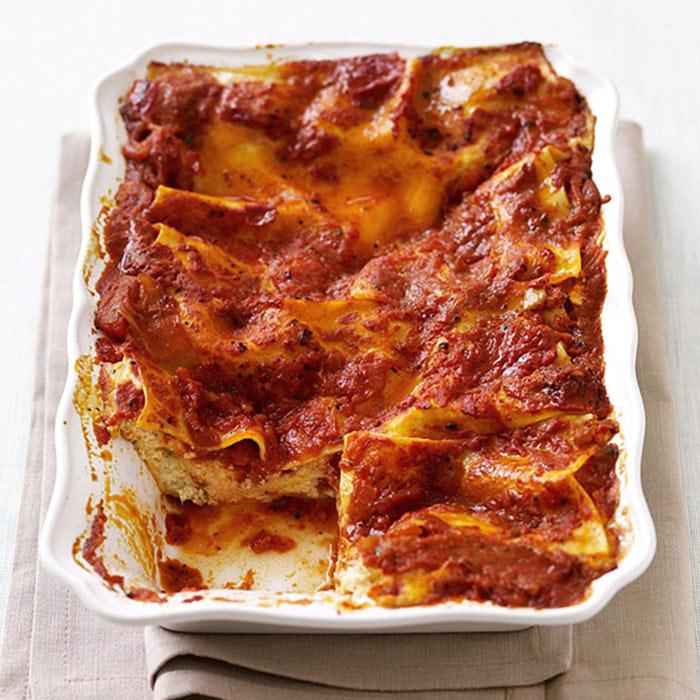 Tomato and Pepper Lasagna