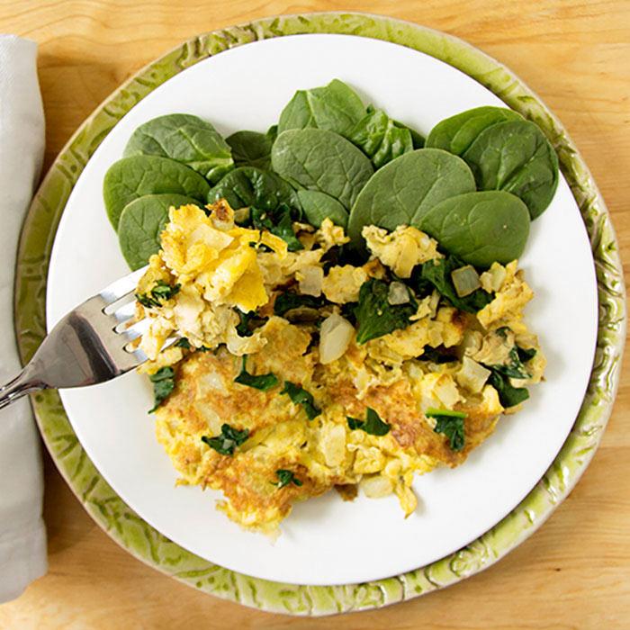 Eggs and Veggies Concocton