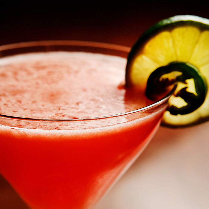 Margarita with Red Pepper Juice