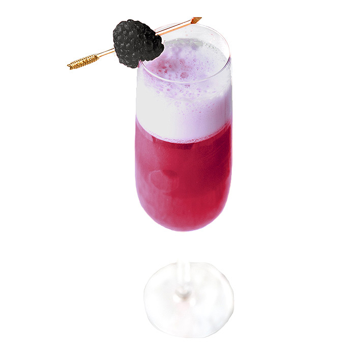 American Berry Bourbon Cocktail