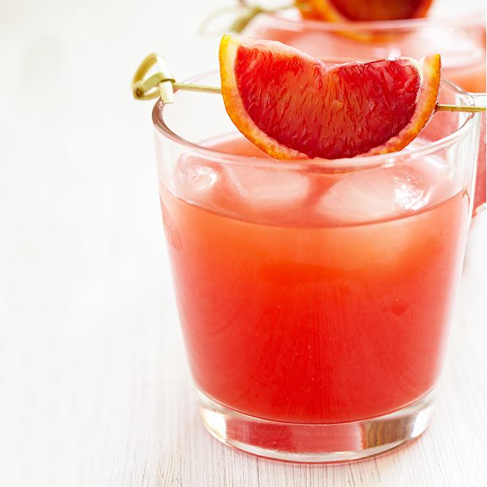 Blood Orange Stage Kiss Cocktail