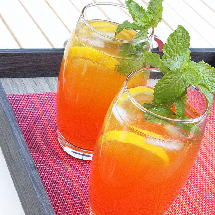 Mango Tequila Sunrise Cocktail