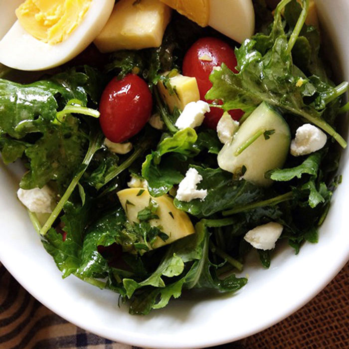 Farmer's Market Vegetable Salad