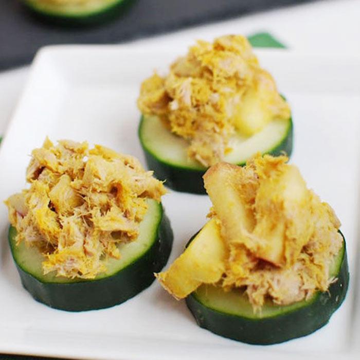 Curried Tuna Salad with Apples