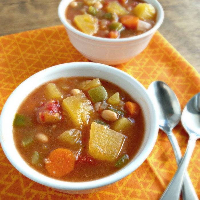 Slow Cooker Pumpkin Stew
