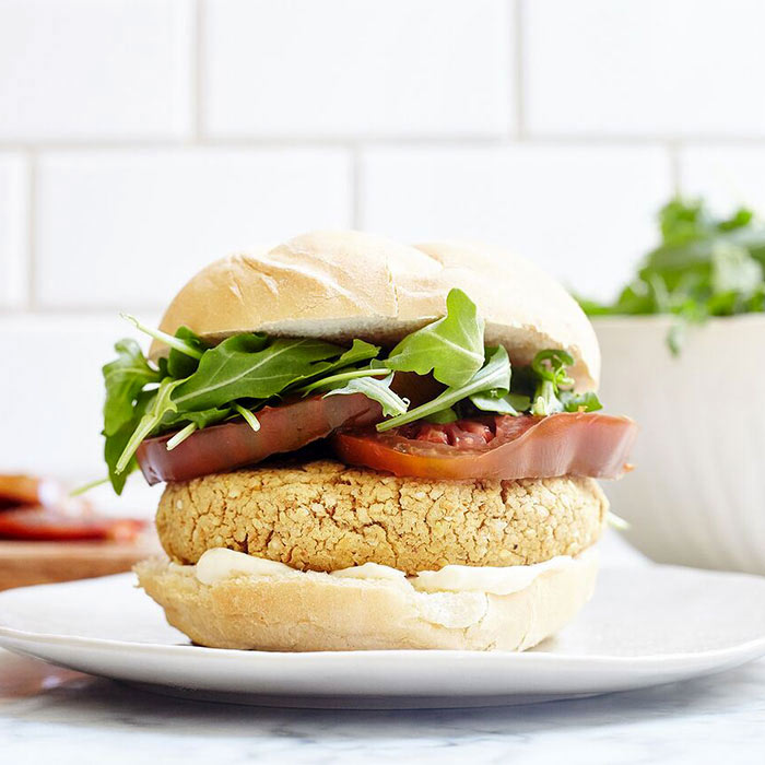A Chickpea-Based Veggie Burger Recipe Unlike Anything You've Ever Tasted