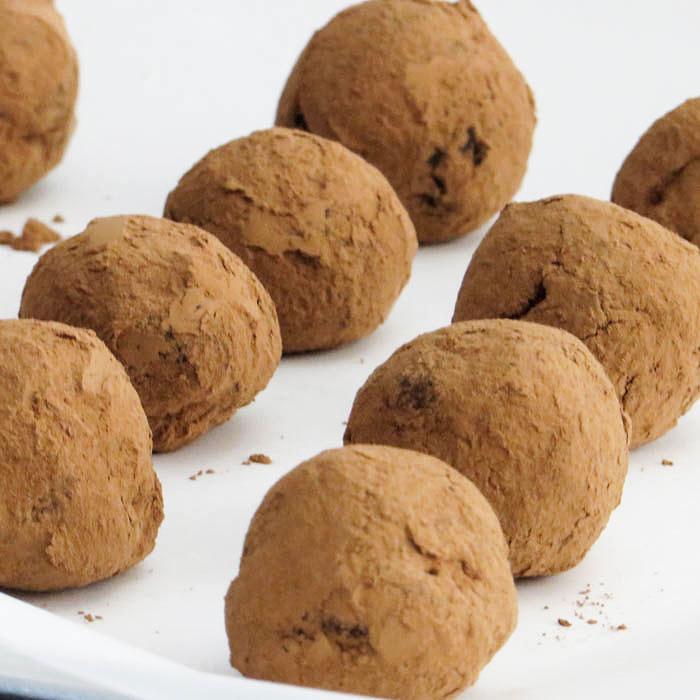 Chili Chocolate Chip Truffles