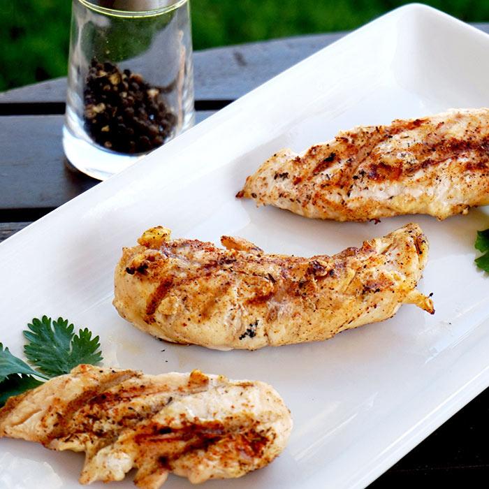BBQ Grilled Chicken Breasts