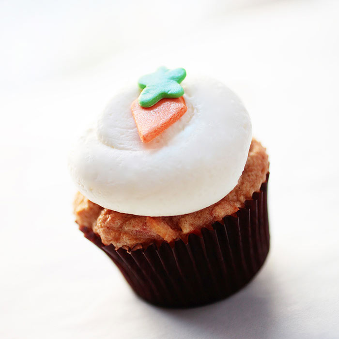 Mini Carrot Cupcakes from Georgetown Cupcake