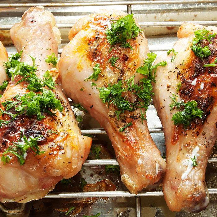 Turmeric-Spiced Chicken Drumsticks