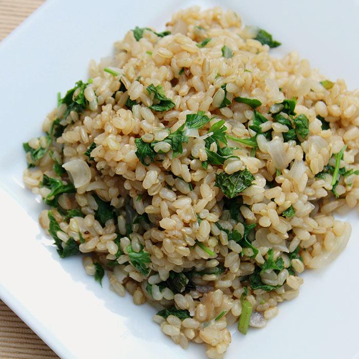 Aromatic Jasmine Herb Brown Rice