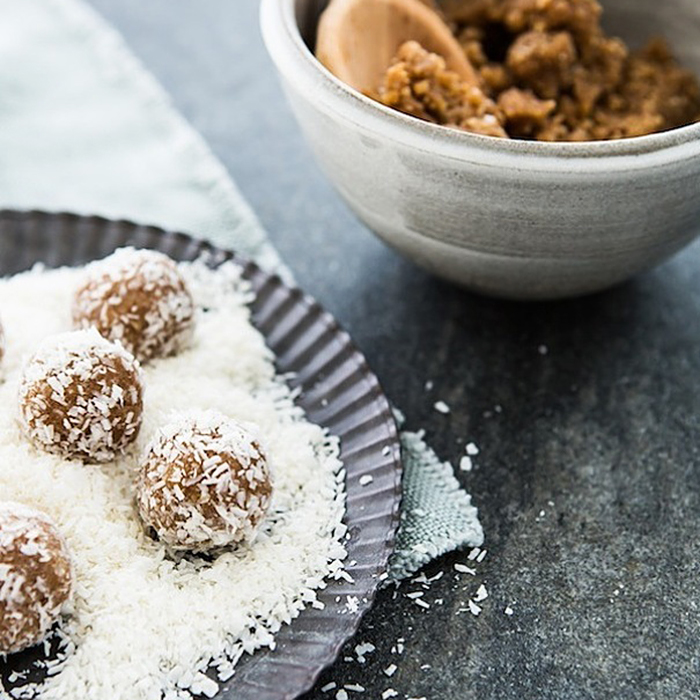 Date and Almond Truffles