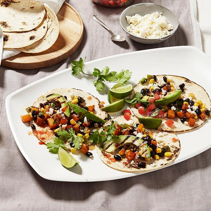 Calabacitas Veggie Tacos