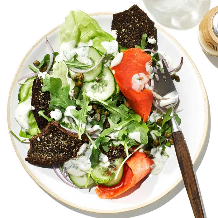 Bagel-and-Lox Salad