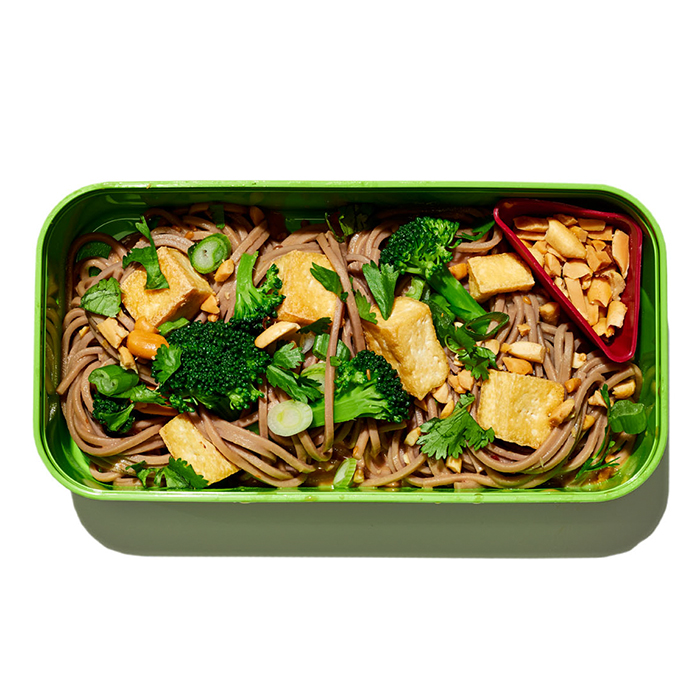 Soba Noodles with Peanuts