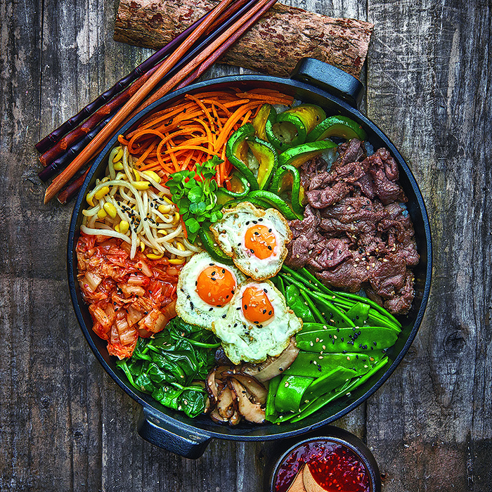 Mixed Rice Bowl with Beef