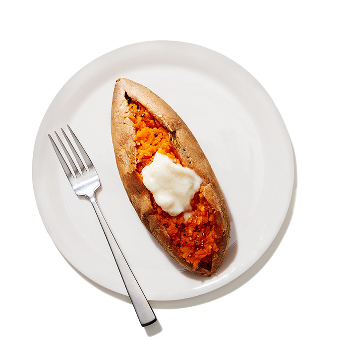Sweet Potatoes with Coconut Butter