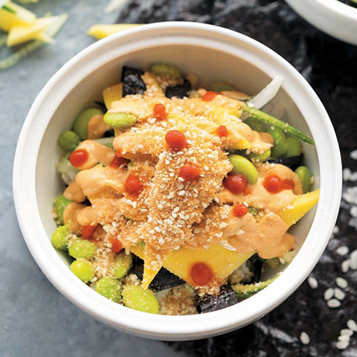 Spicy Sushi Bowl