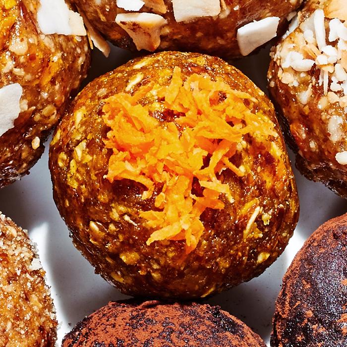 Carrot-Ginger Energy Balls