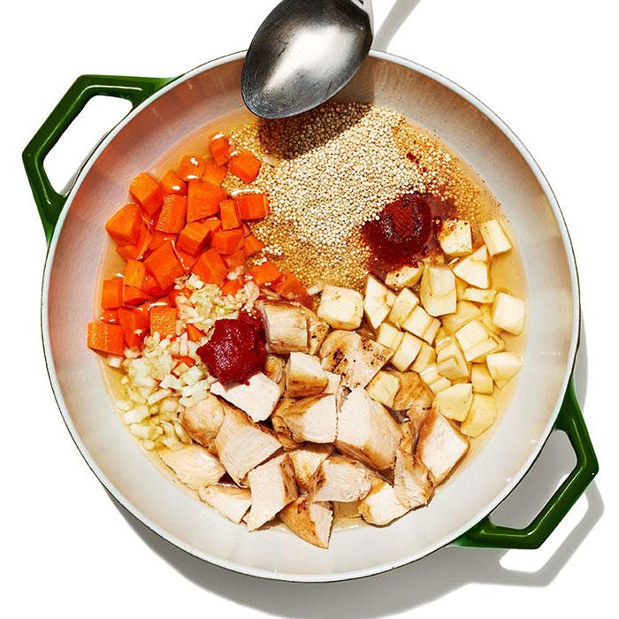 Harissa Chicken and Quinoa