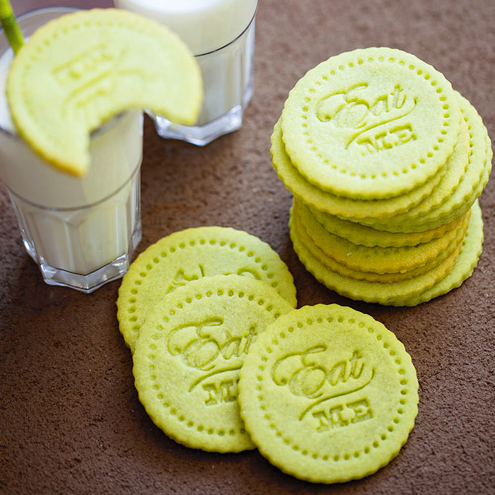 Vanilla Matcha Sugar Cookies