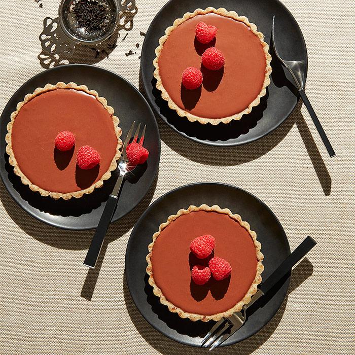 No-Bake Earl Grey Chocolate Tart