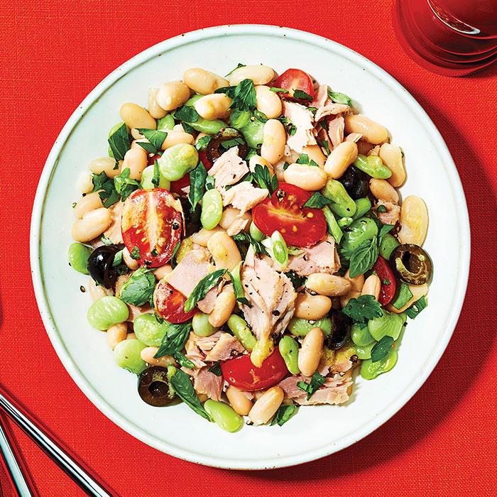 Sicilian Tuna and Beans
