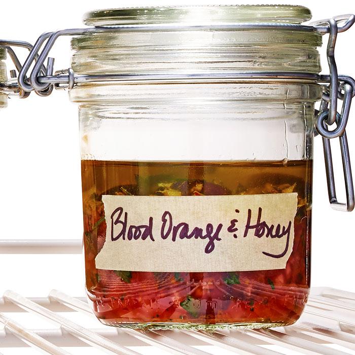 Blood Orange, Black Pepper, and Honey Spread